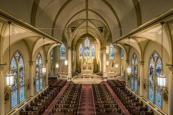 Photograph - St. Francis Xavier Cathedral by Andy Crawford