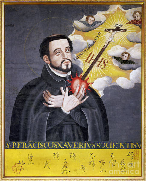 Photograph - St. Francis Xavier by Granger