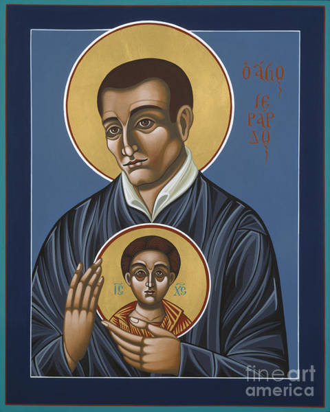 Painting - St Gerard Majella Patron Of Expectant Mothers 138 by William Hart McNichols