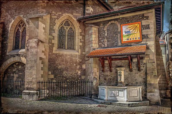 Wall Art - Photograph - St Germain Church Geneva Switzerland  by Carol Japp