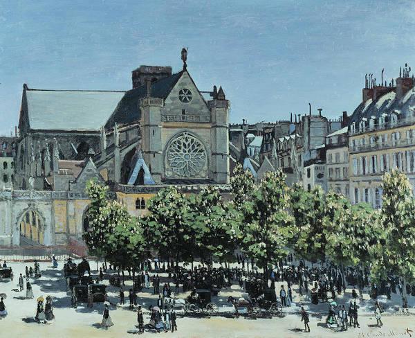 Painting - St. Germain L'auxerrois A Paris  by Claude Monet