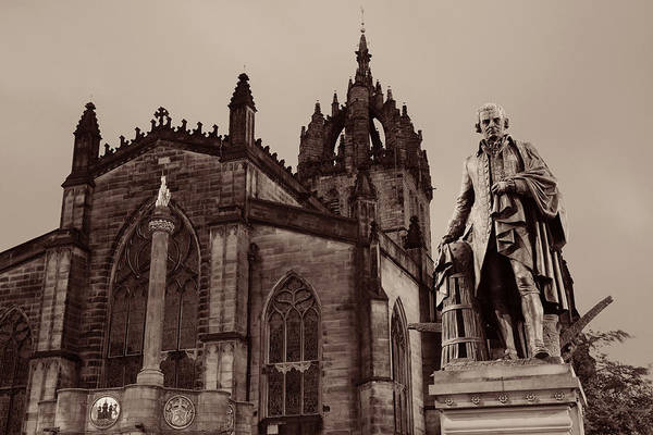 Photograph - St Giles' Cathedral by Songquan Deng