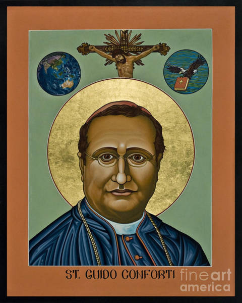 Painting - St. Guido Maria Conforti - Lwgmc by Lewis Williams OFS