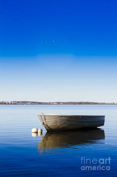 Dinghies Photograph - St. Helens Marine Scene by Jorgo Photography - Wall Art Gallery