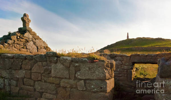 Penwith Photograph - St Helen's Oratory Cape Cornwall by Terri Waters