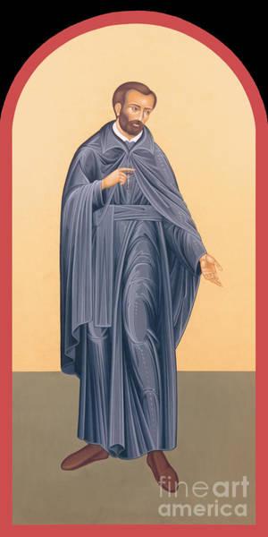 Painting - St. Isaac Jogues, Sj - Rlisj by Br Robert Lentz OFM