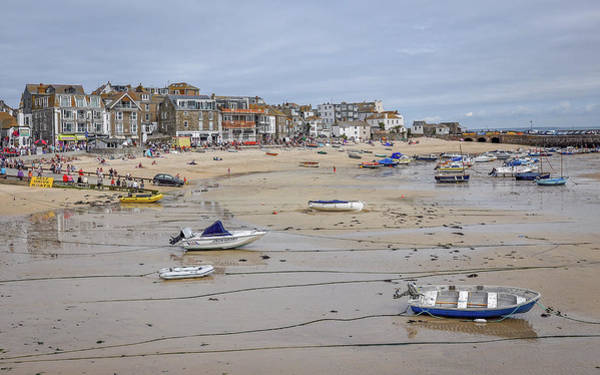 Ives Photograph - St Ives At Low Tide by Andrew Wilson