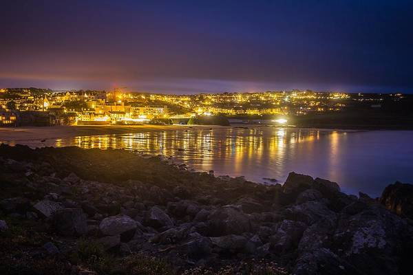 Photograph - St. Ives At Night by Joy of Life Art Gallery