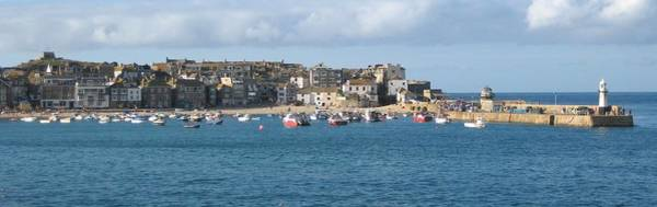 Photograph - St Ives Harbour Cornwall by Scenes of Cornwall