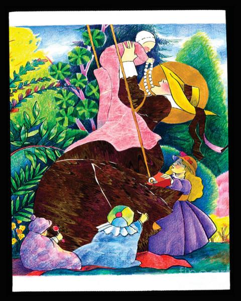 Painting - St. Jane De Chantal - Mmcha by Br Mickey McGrath OSFS