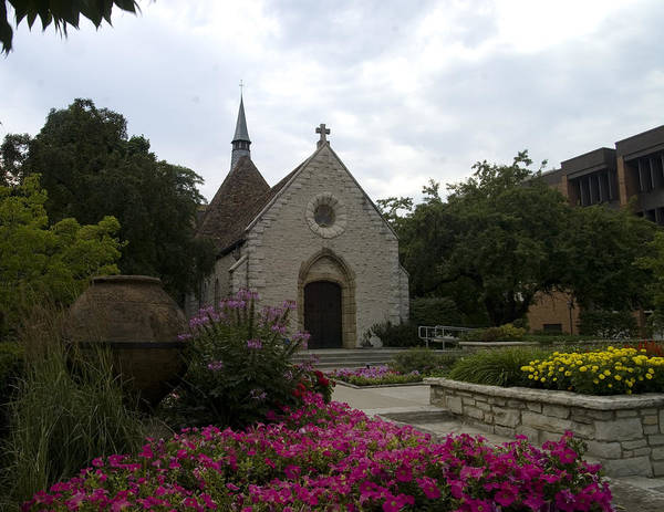 Marquette Photograph - St Joan Of Arc Chapel by Peter Skiba