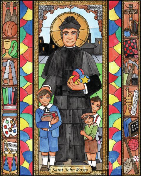 Painting - St. John Bosco by Brenda Nippert