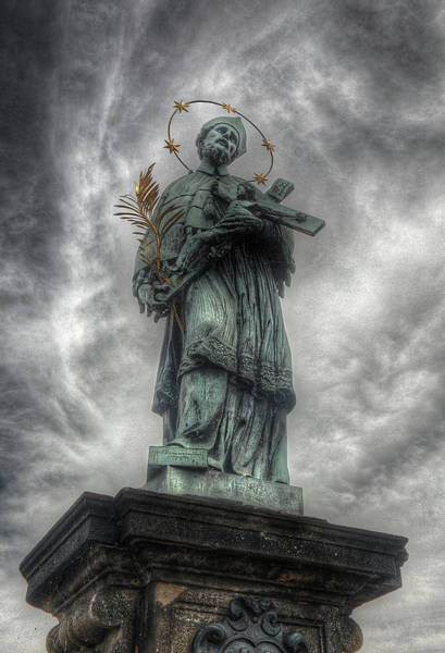 Photograph - St John Nepomuk by Michael Kirk