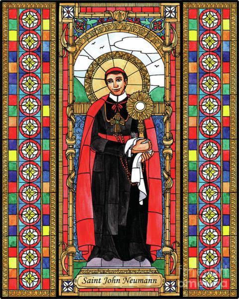 Painting - St. John Neumann by Brenda Nippert