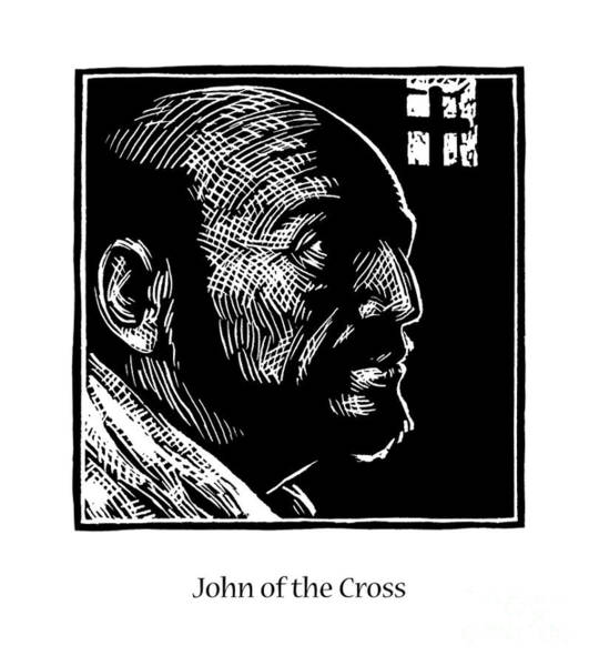 Painting - St. John Of The Cross - Jljoc by Julie Lonneman