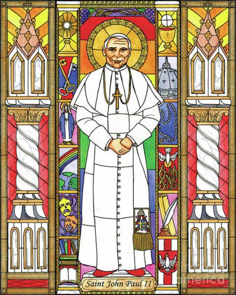 Painting - St. John Paul II by Brenda Nippert