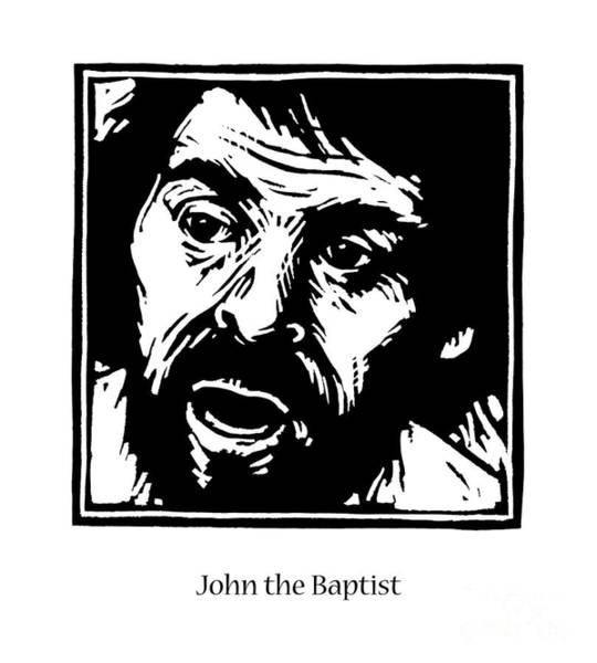 Painting - St. John The Baptist - Jljba by Julie Lonneman