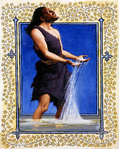 Painting - St. John The Baptist - Lgjtb by Louis Glanzman
