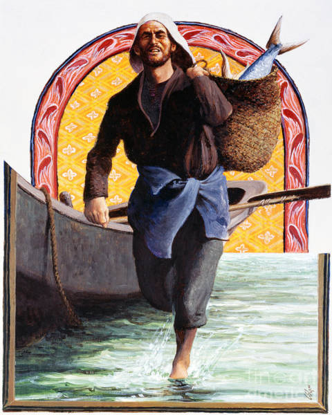 Painting - St. John The Evangelist - Lgeva by Louis Glanzman