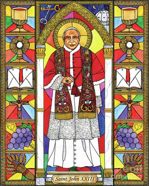 Painting - St. John Xxiii by Brenda Nippert