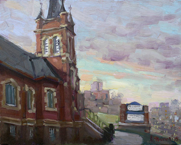 St Painting - St John's Dixie  by Ylli Haruni