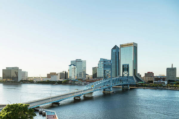 Photograph - St Johns River Skyline, Jacksonville, Florida by Kay Brewer