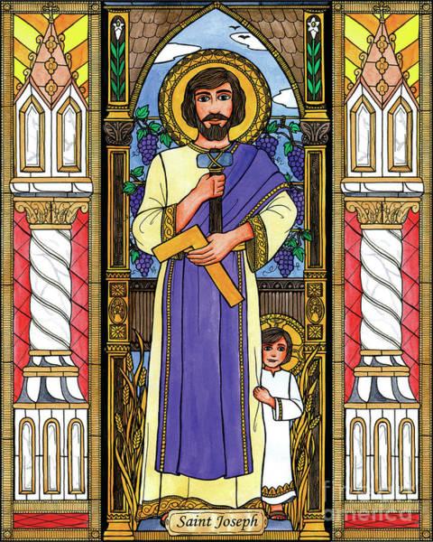 Painting - St. Joseph by Brenda Nippert