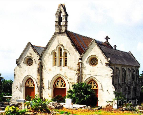 Photograph - St Joseph Parish Church by Thomas R Fletcher