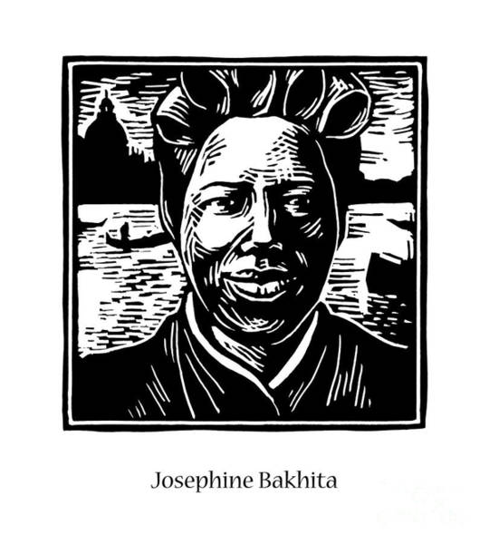 Painting - St. Josephine Bakhita - Jljob by Julie Lonneman