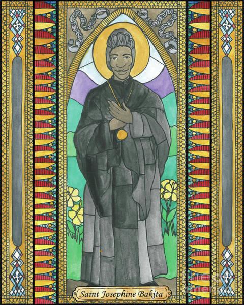 Painting - St. Josephine Bakita by Brenda Nippert
