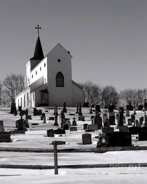 Photograph - St. Joseph's by Donna Cavanaugh