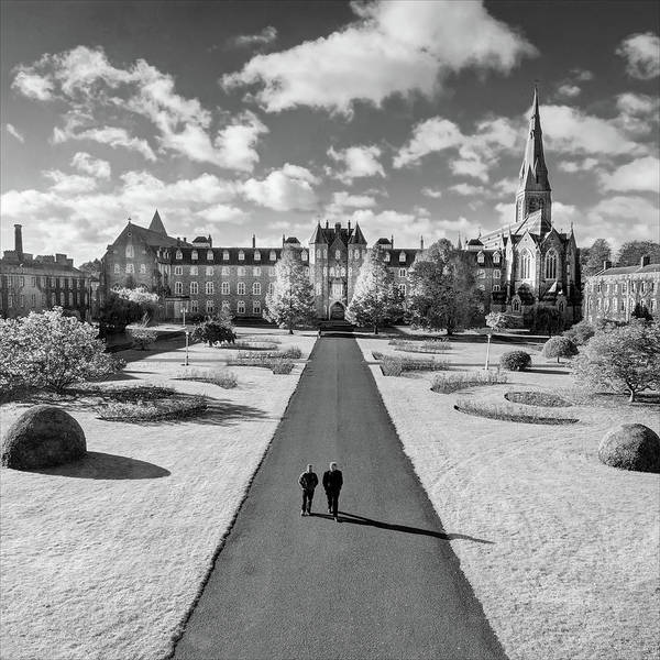 Maynooth Photograph - St Joseph's Square At Maynooth University - Kildare, Ireland by Barry O Carroll