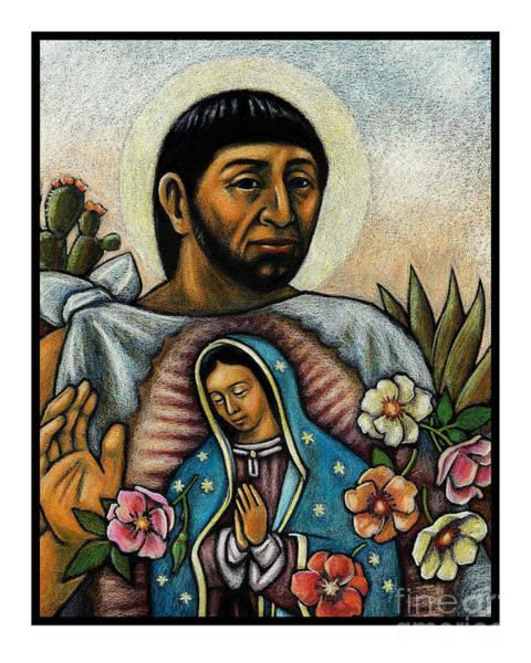 St. Juan Diego And The Virgins Image - Jljdv Art Print