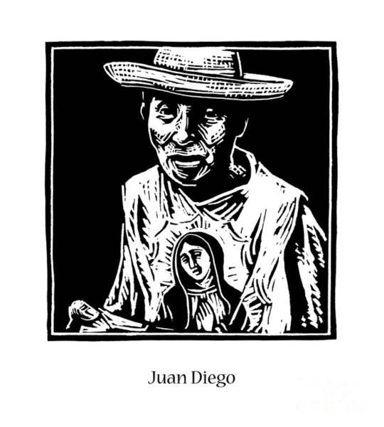 Painting - St. Juan Diego - Jljud by Julie Lonneman