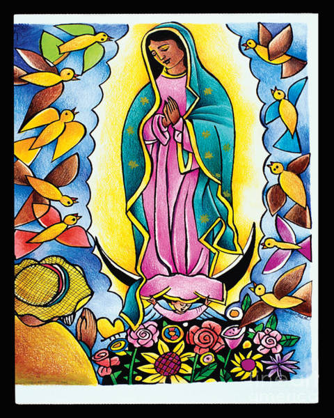 Painting - St. Juan Diego - Mmjdi by Br Mickey McGrath OSFS