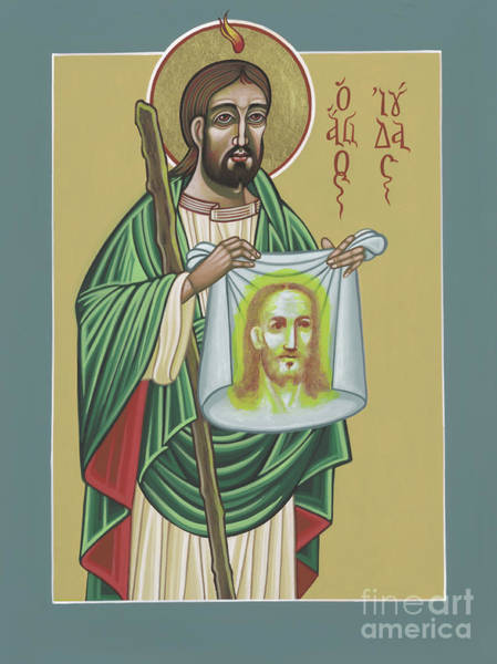 St Jude Patron Of The Impossible 287 Art Print