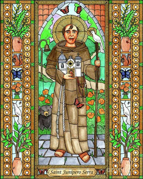 Painting - St. Junipero Serra by Brenda Nippert