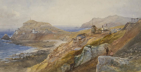 Wall Art - Painting - St Just United Mines by Thomas Hart