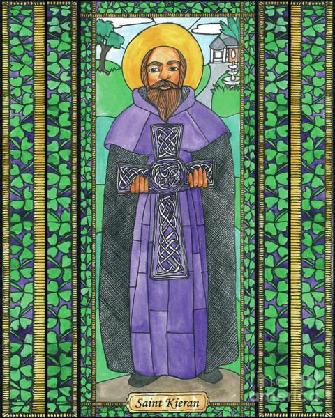 Painting - St. Kieran by Brenda Nippert