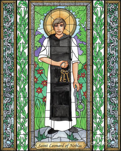 Painting - St. Leonard Of Noblac by Brenda Nippert
