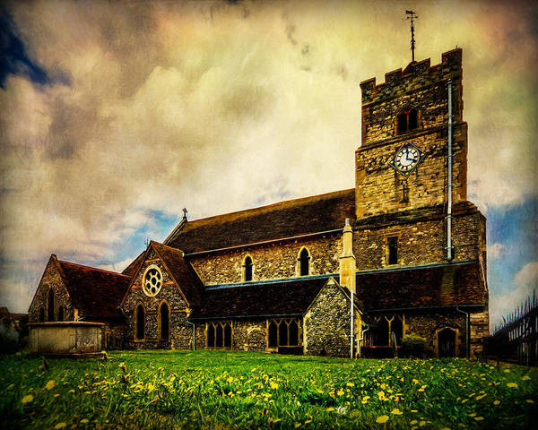 Photograph - St. Leonard's Church by Chris Lord