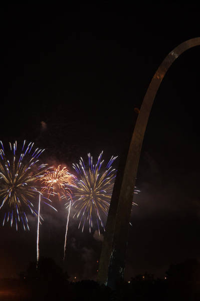 Photograph - St. Louis 4th-5 by David Coblitz