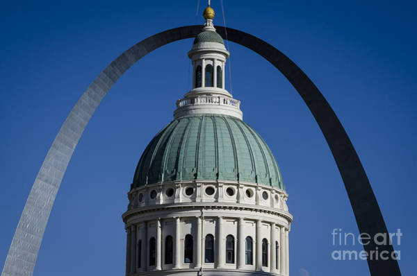 Photograph - St. Louis Arch by Andrea Silies
