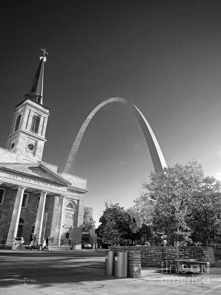 Photograph - St. Louis Arch by Ms Judi