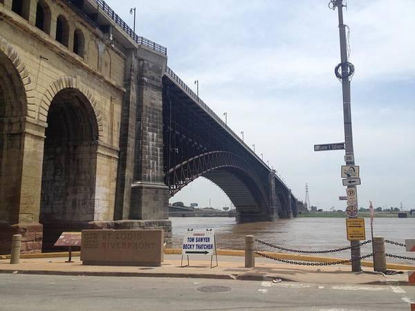 Photograph - St. Louis Bridge by Andrea Love