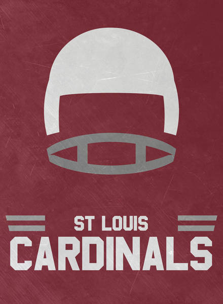 Cardinal Mixed Media - St Louis Cardinals Vintage Art by Joe Hamilton