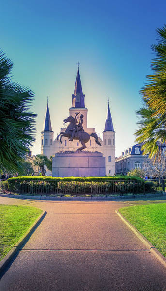 Wall Art - Photograph - St Louis Cathedral Church, New Orleans by Art Spectrum