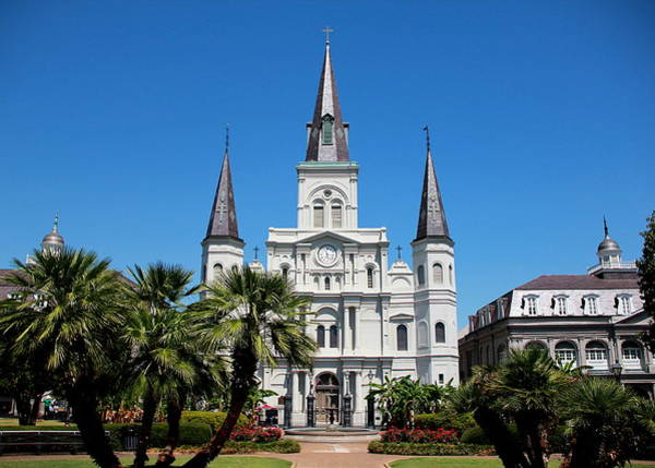 Photograph - St. Louis Cathedral by Debi Dalio
