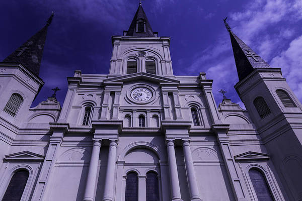 Wall Art - Photograph - St. Louis Cathedral New Orleans by Garry Gay