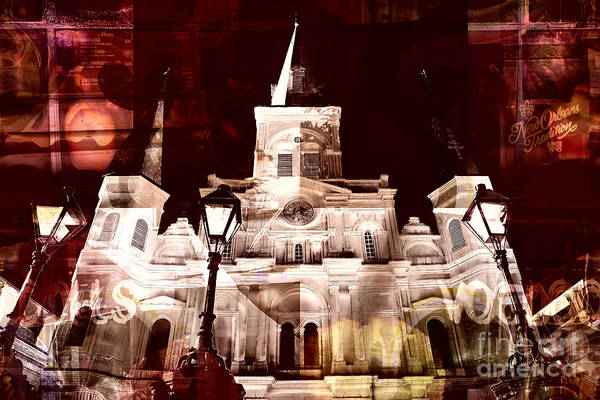 Photograph - St. Louis Cathedral Traditions by John Rizzuto